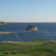Скала Бронепоезд  на реке Урал.JPG